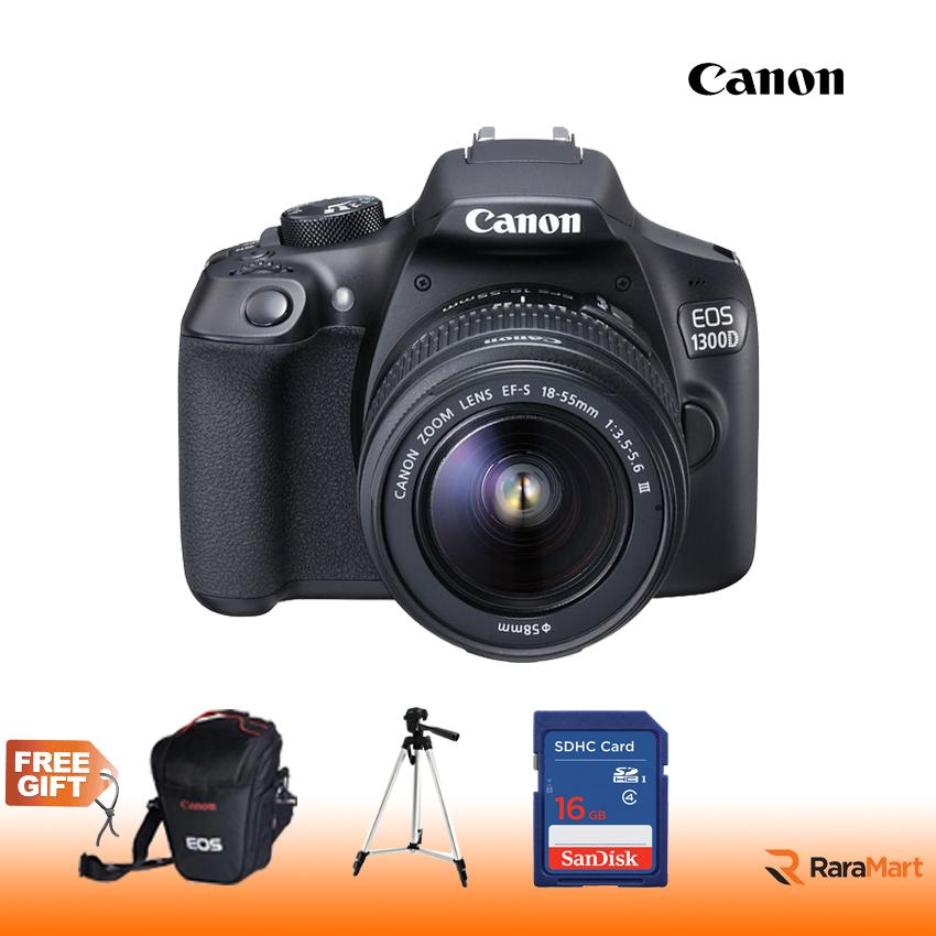 EOS 1300D Canon DSLR EOS 1300D 18-55 III lens
