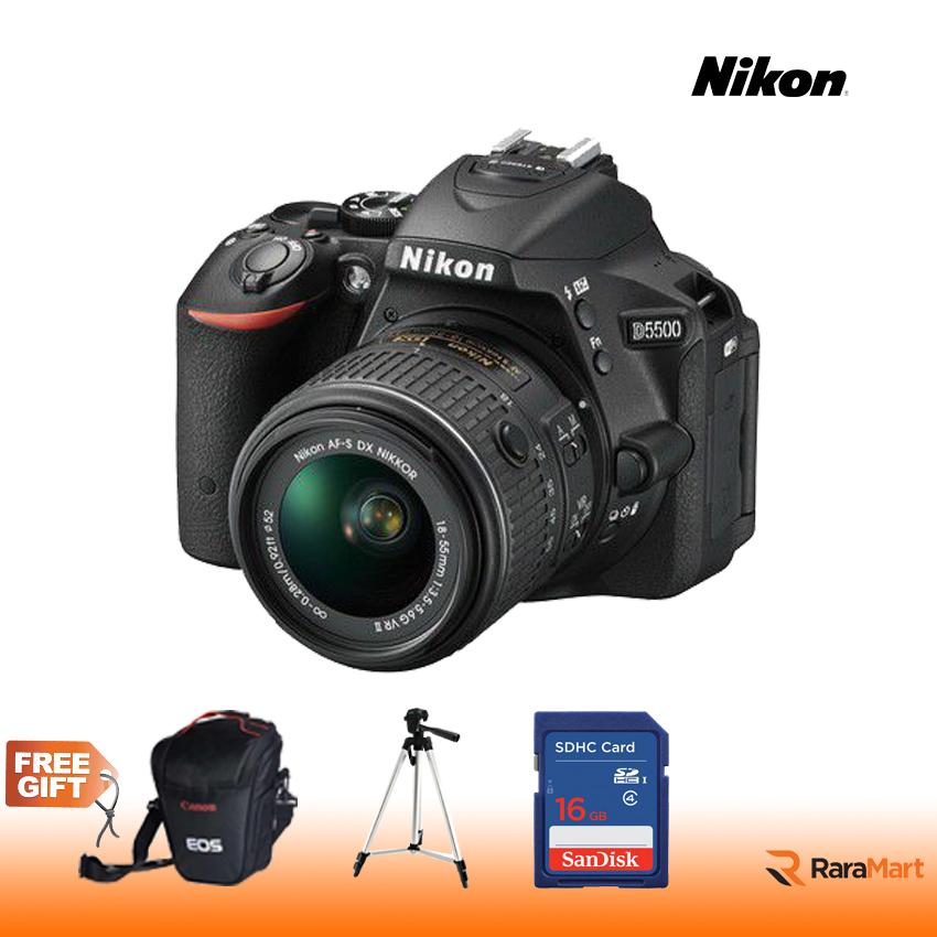 D5500 Nikon DSLR D5500 AFP 18-55 VR