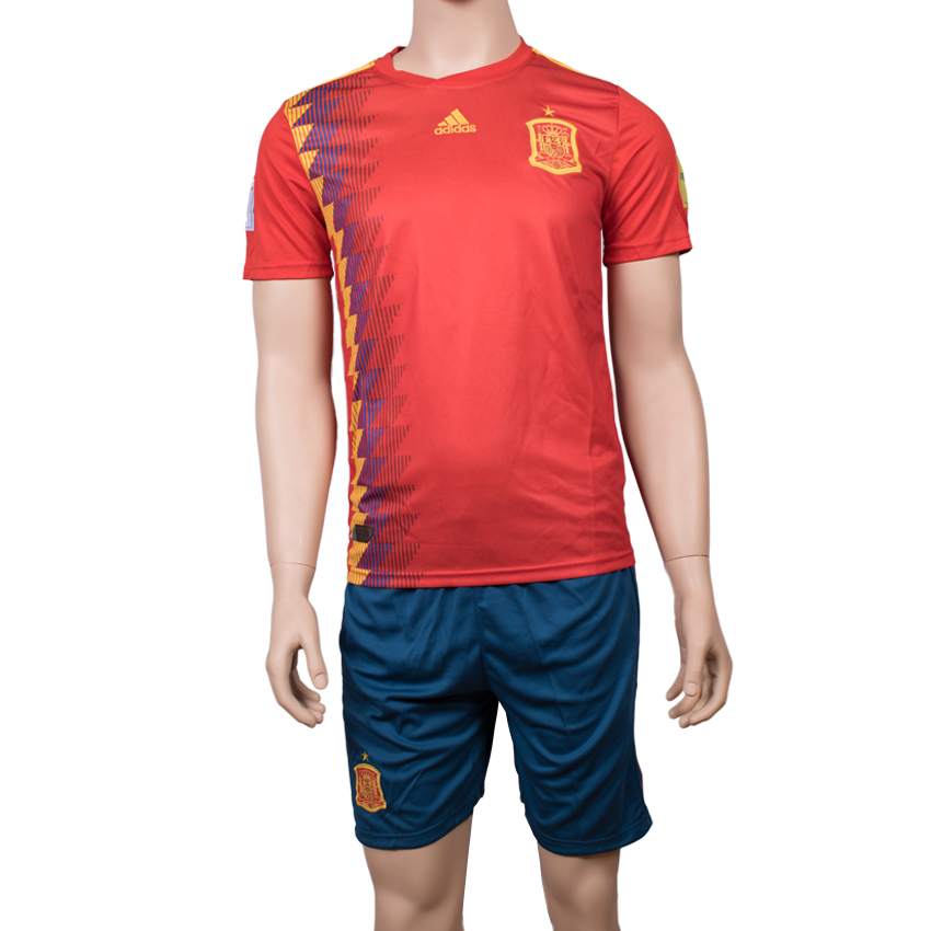 Spain National Team Jersey Home-FIFA WC 2018(High Quality)