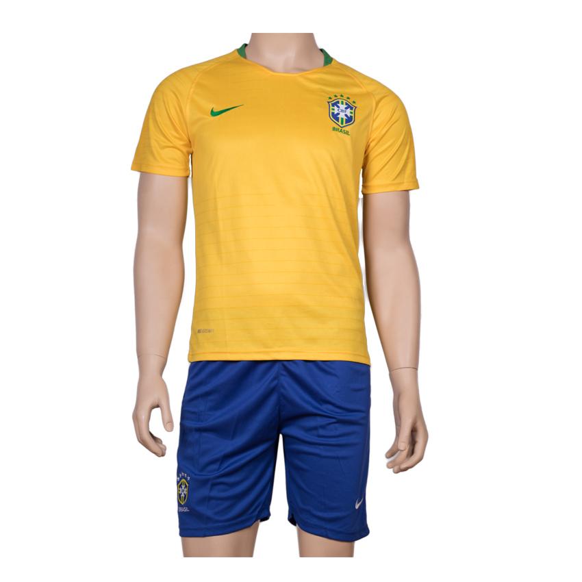Brazil National Football Team Jersey Home-FIFA WC 2018