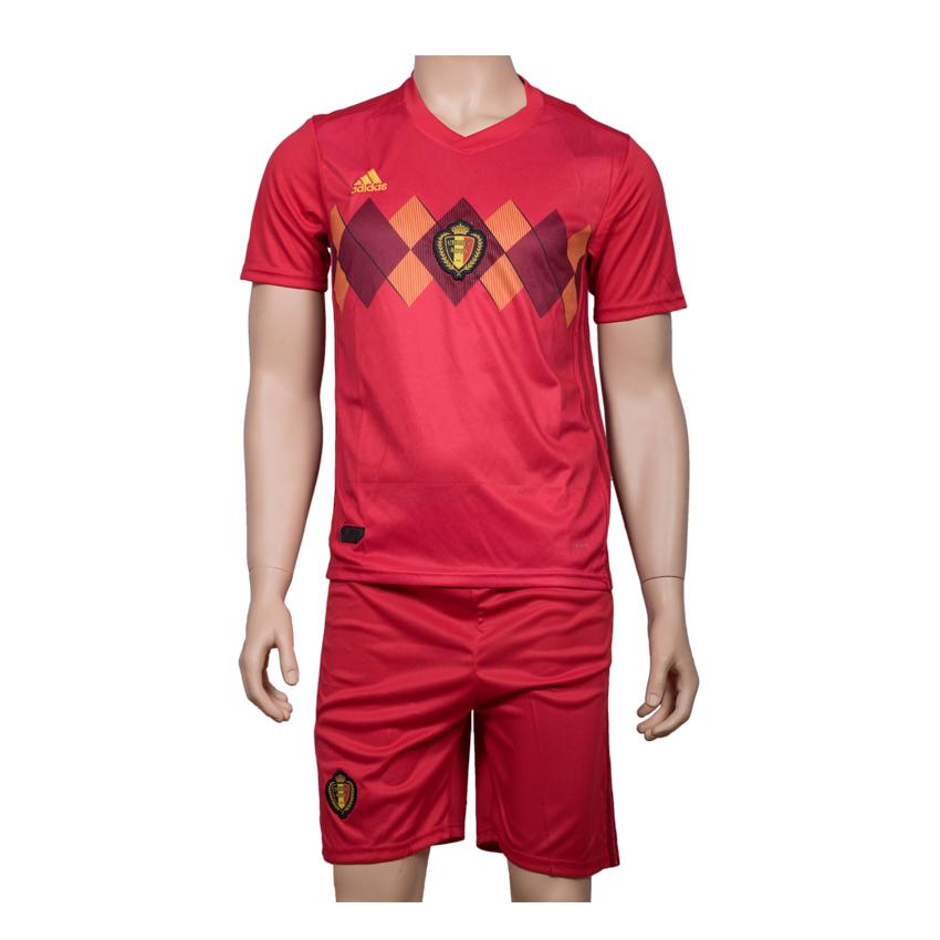 Belgium Football Team Jersey Home-FIFA WC 2018