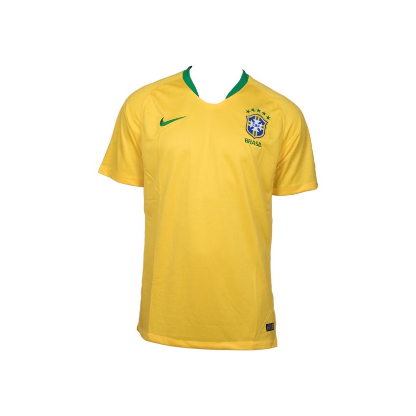 Brazil National Team Jersey Home-FIFA WC 2018 (High Quality)