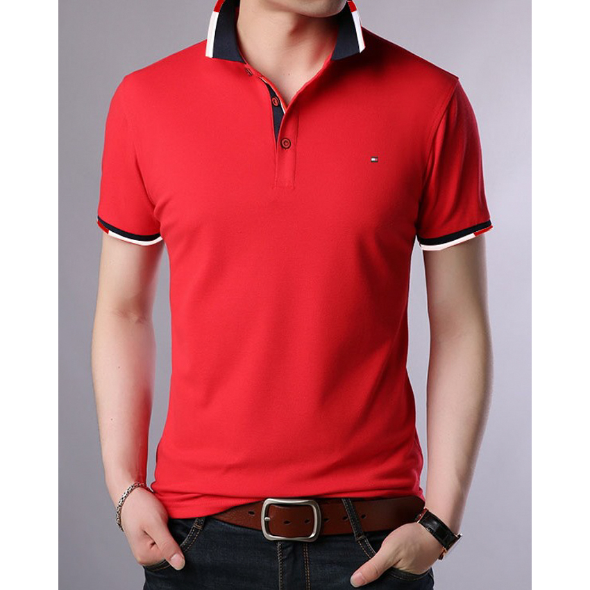 Polo T-shirt For Men PT21 - Red