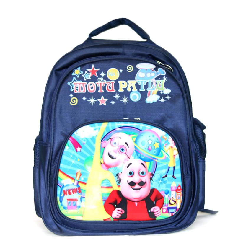 Motu Patlu kids trendy sticker bag pack
