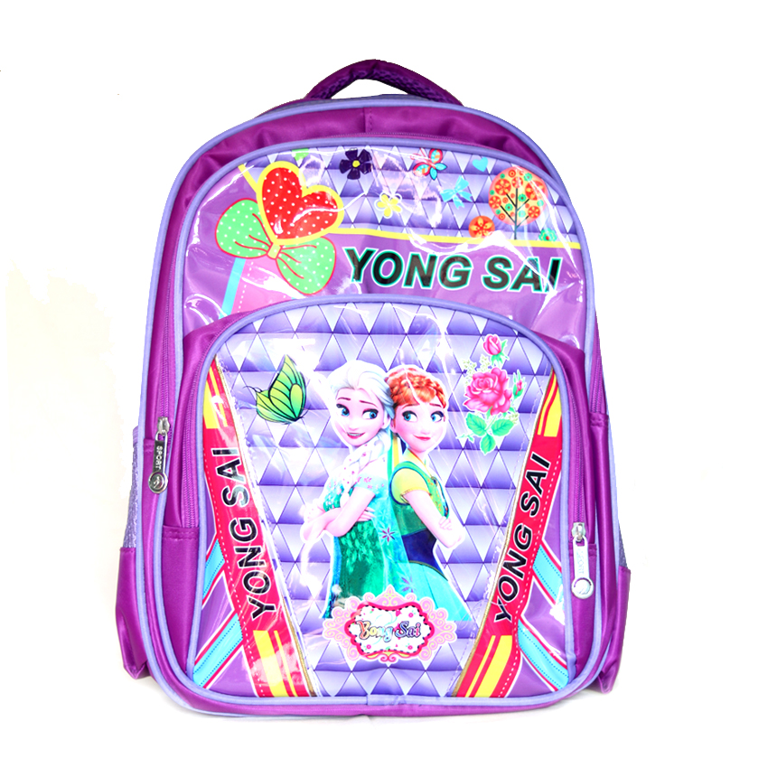 Yong sai barbie Disney barbie printed girly kids bag pack