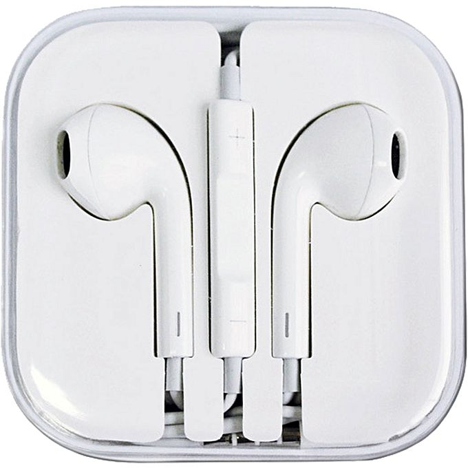 EarPods with Remote and Mic- White