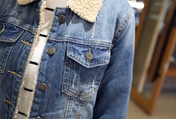 Jeans Jacket Fur Inside For Girls Raramart Nepal Online Shopping