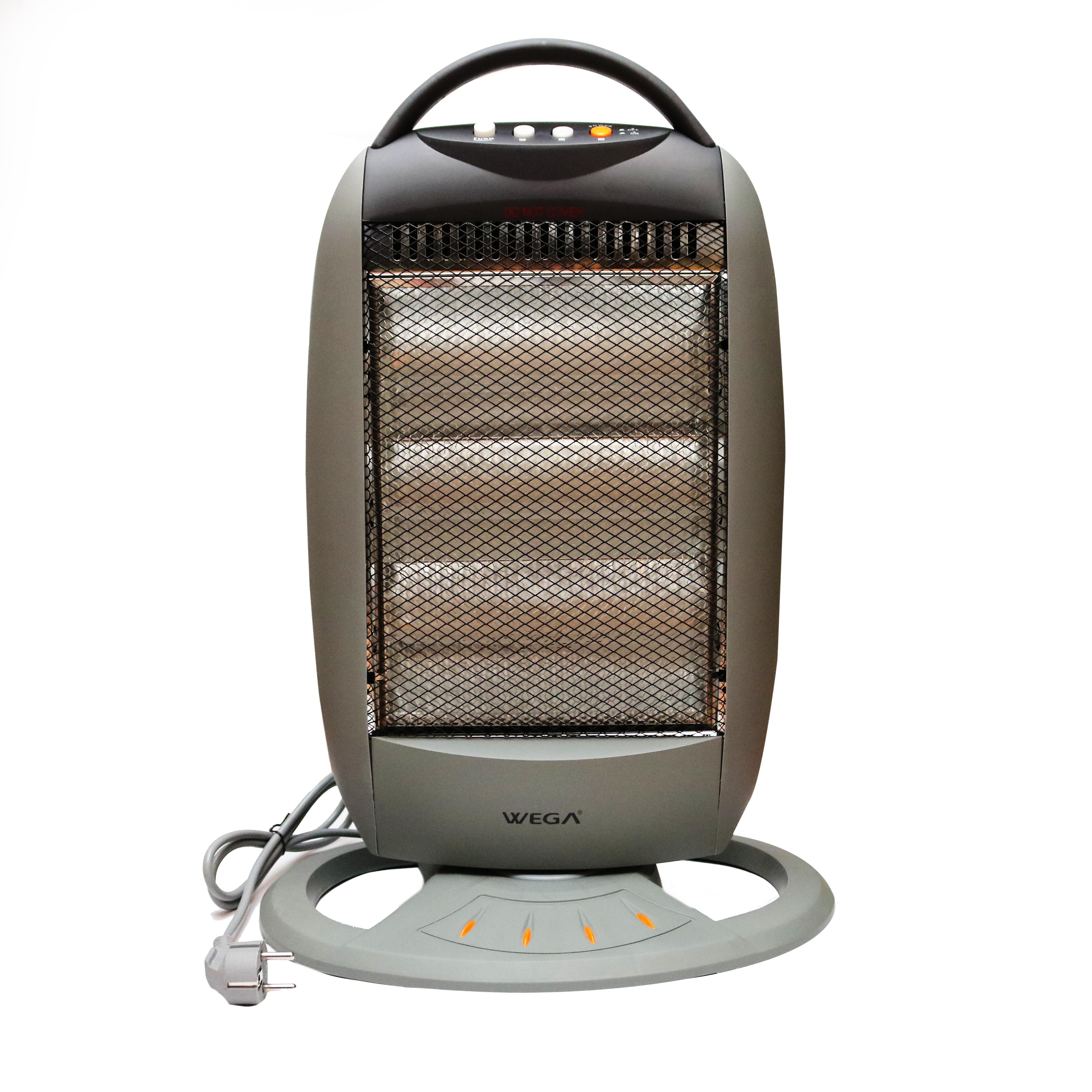 Halogen Heater with 3 rod movable