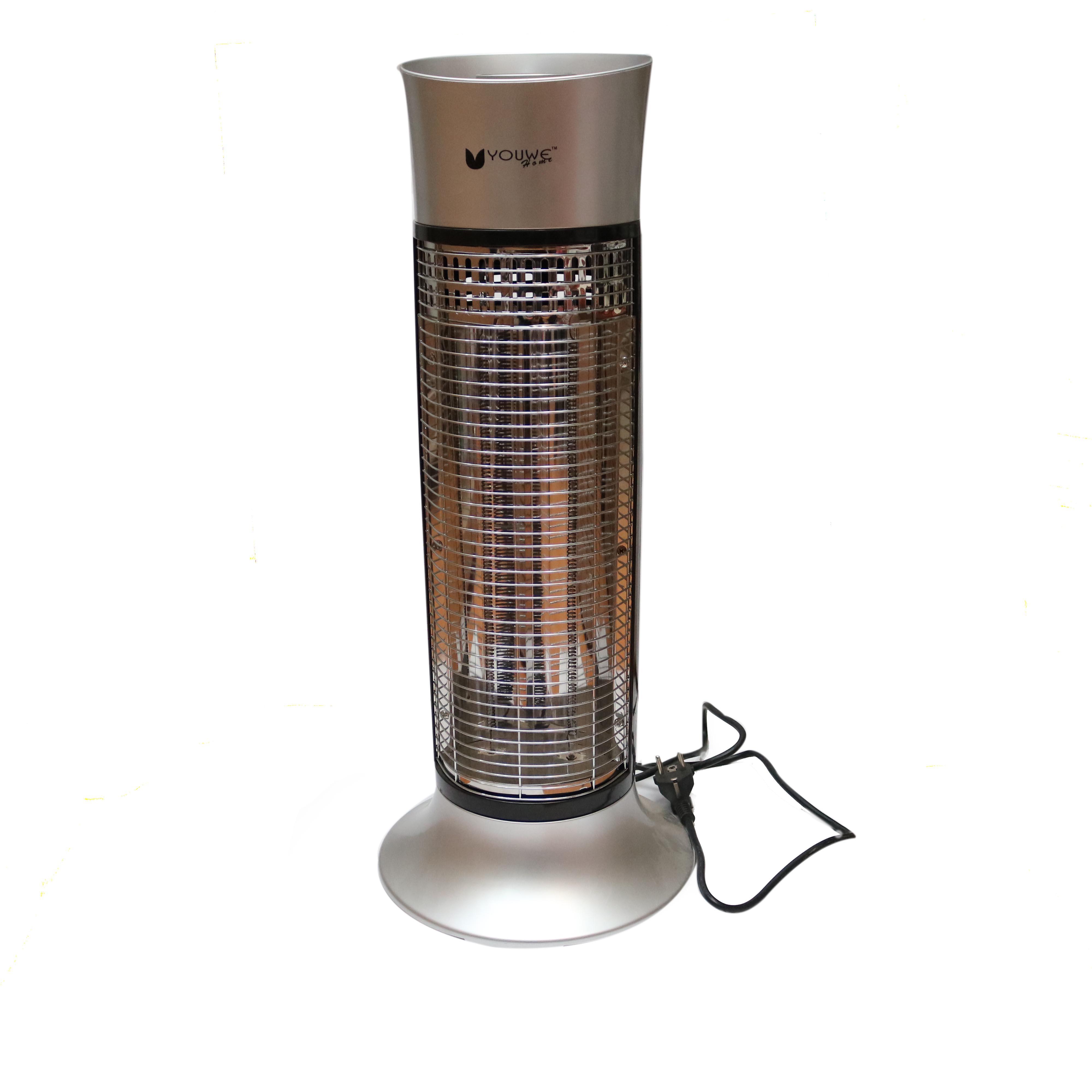 Silver Carbon Fiber Heater