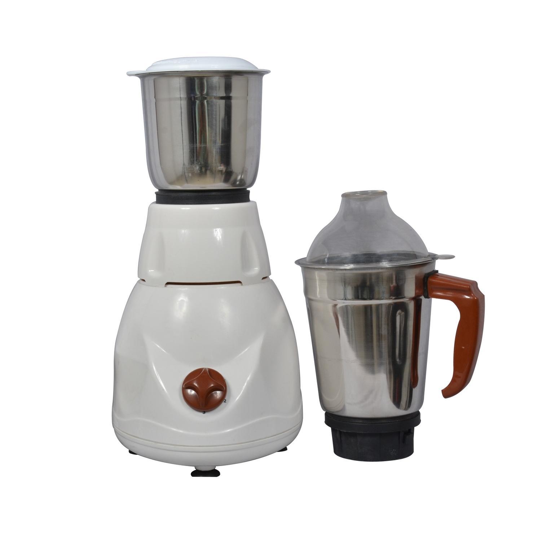 a08ef0b3e Homeglory HG-MG109ECO 2-Jar Mixer Grinder - White Brown