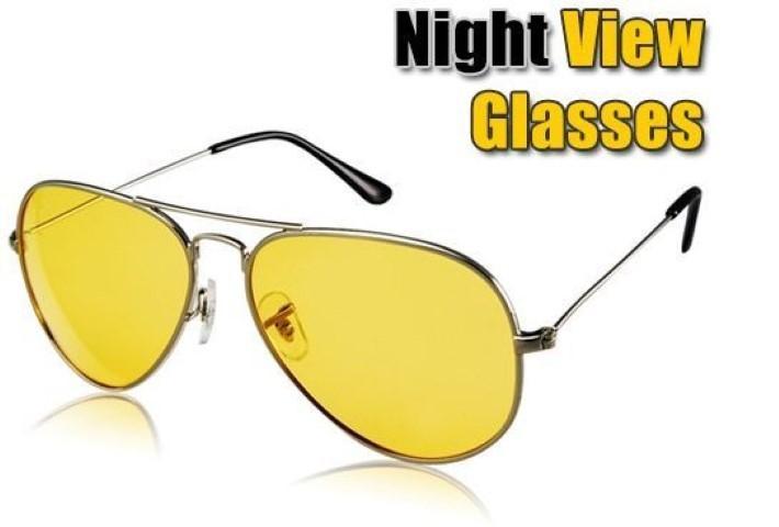 aa534342b9 Yellow Night Vision Anti Glare Driving Glasses-Raramart Nepal ...
