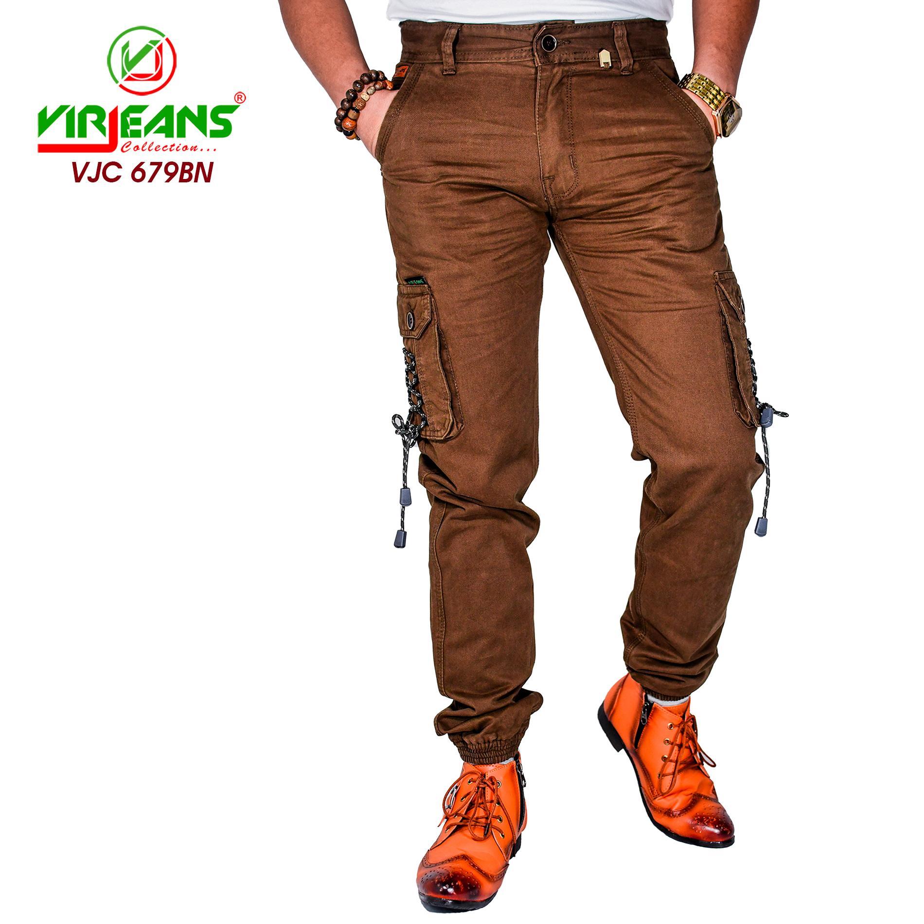 Virjeans Cotton Box (Cargo) Joggers Pant (VJC 679)