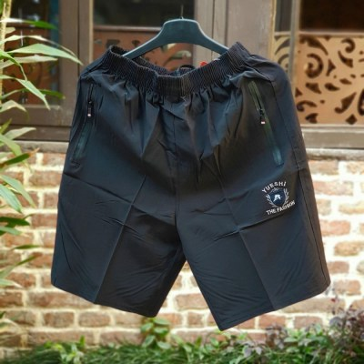 Black Sporty Shorts For Men