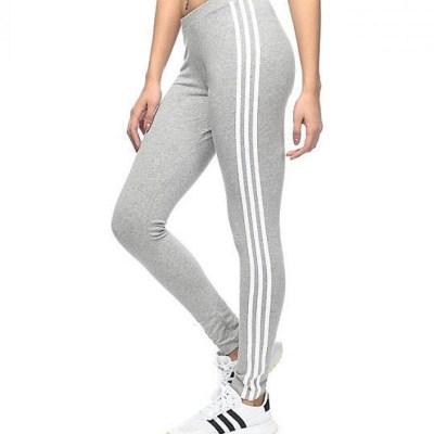 Light Grey Stretchable Cotton Legging