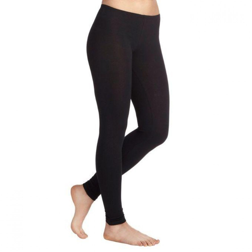 Black Fleece Inside Polyester Stretchable Legging