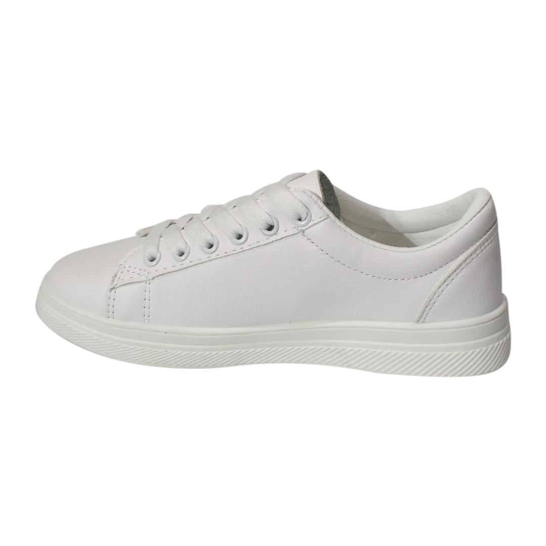 Casual White Shoe With Thin Sole For Women