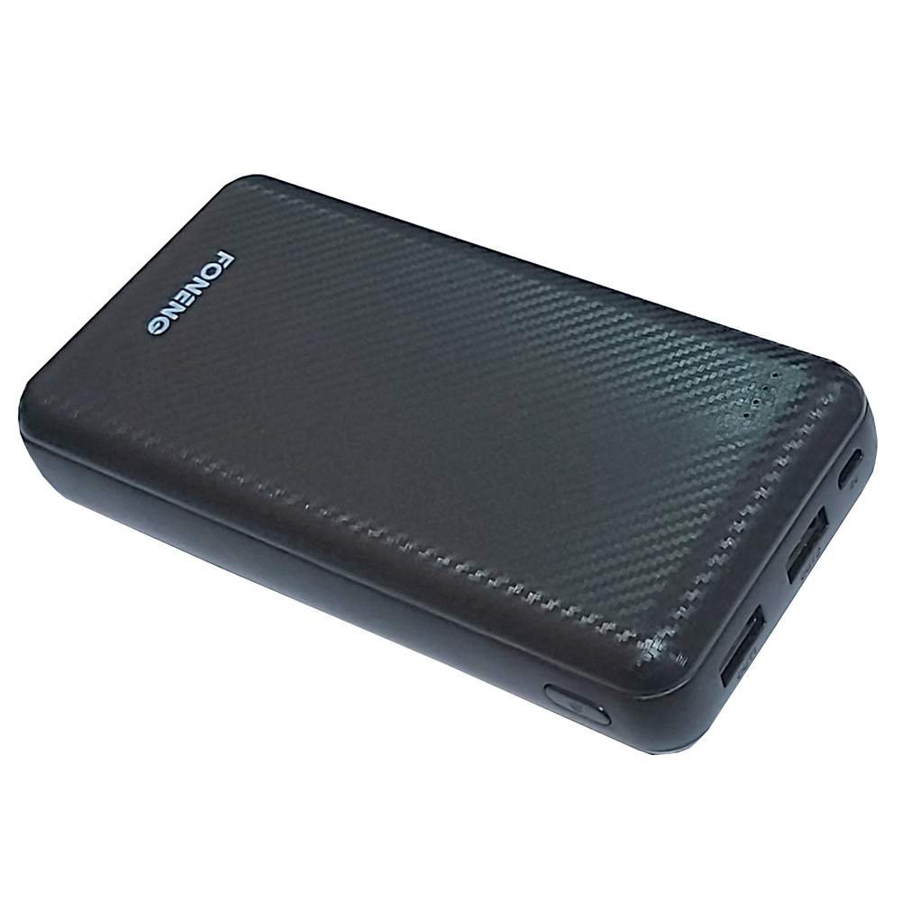 FONENG 'Mate 200' High Density Polymer Battery 2-USB Ports Scratch-Resistant Power Bank 20000mAh