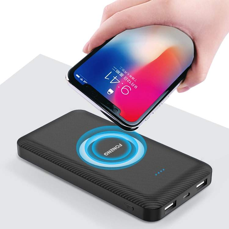 Foneng-S8 10000mAh Best Charge Wireless Power Bank