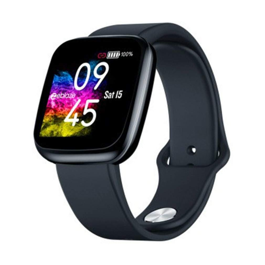 Zeblaze Crystal 3 Smartwatch WR IP67 Heart Rate Blood Pressure Long Battery Life IPS Color Display Smart Watch
