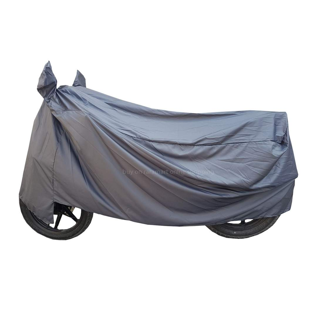 Universal Bike & Scooter Cover Full Size Bike Cover For All Bikes & Scooter Color May Vary