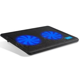 S2 Laptop Cooler With Dual Fan And LED Light