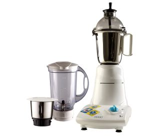 MG 2853 Smash 500 W Mixer Grinder  (White, 3 Jars)