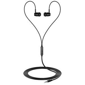 In-Ear Bass Headphones- Black/White