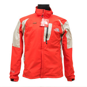 Red North Face Wind Cheater for men