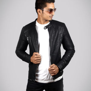 Mens' Leather Jacket