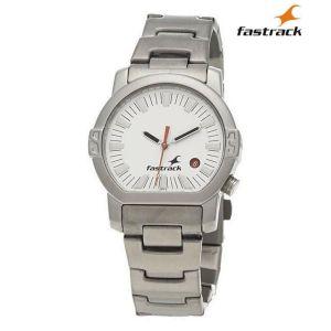 1161SM03 White Dial Analog Watch For Men