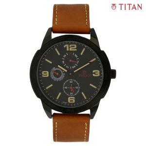 Titan 1585NL01 Black Dial Analog Watch For Men