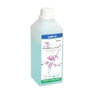 PURELLIUM Blue Alcoholic Handrub Gel With Moisturiser Sanitizer - 500 ml