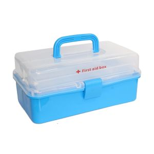 Blue First Aid Box - Large