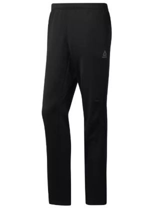 Reebok Black Workout Ready Thermowarm Pants For Men - (CY4869)