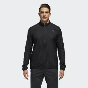 Adidas Black Response Wind Running Jacket For Men - CY5773