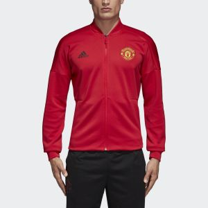 Adidas Real Red Manchester United ZNE Jacket For Men - CW7670