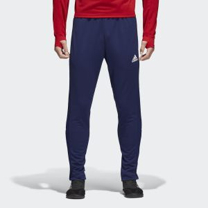 Adidas Dark Blue Condivo 18 Football Training Pants For Men - CV8243