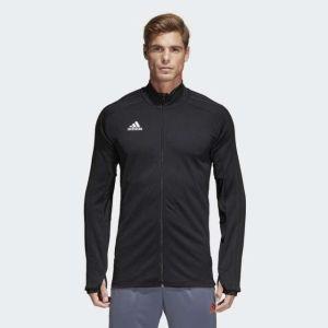 Adidas Black Condivo 18 Football Training Jacket For Men - CG0404