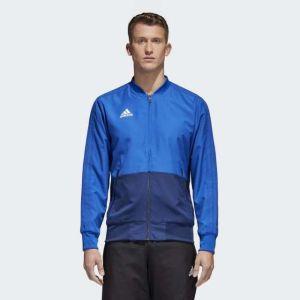 Adidas Bold Blue Condivo 18 Presentation Jacket For Men - CF4309