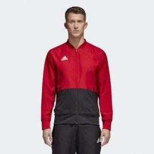 Adidas Power Red Condivo 18 Presentation Jacket For Men - CF4308