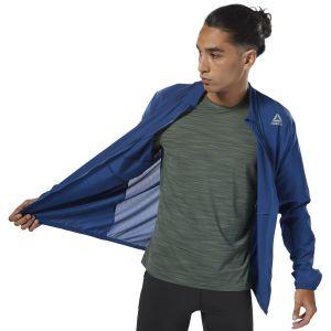 Reebok Blue Running Woven Jacket For Men - (D92942)