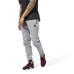 Reebok Grey Training Supply Joggers For Men - (DP0314)