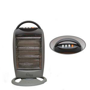 Grey Halogen  Heater