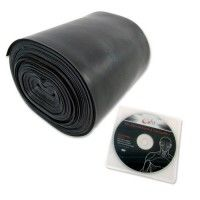 66fit TPE Exercise Band x 24m& DVD - Level 5 - Black