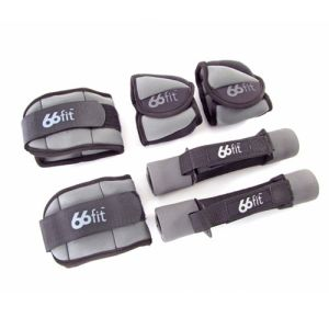 66fit Ankle, Wrist and Dumbbells Weight Set - 4kg