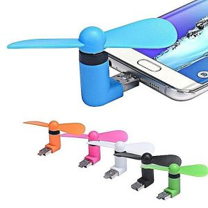 OTG Mini USB Cooling Portable Fan Mobile Cooler For Android