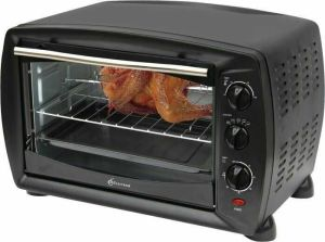Electron ELVO-35F Electric Oven 1600W - (Black)