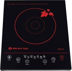 Bajaj Majesty ICX 12 Induction Cooktop (Black, Touch Panel)