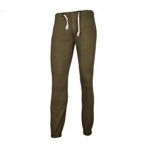 Cotton Joggers For Men Green Color