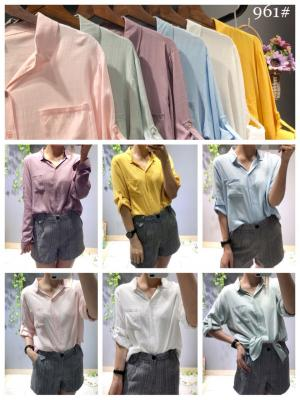 New Design Fashion Cotton Shirt For Women